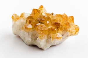 piedras chakras Cuarzo amarillo